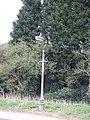 Street lamp near Old manor Farm - geograph.org.uk - 387286.jpg