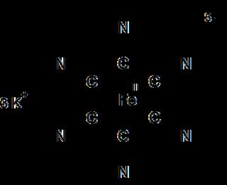 Potassium ferricyanide Chemical compound
