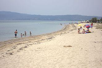 Strymonian Gulf - View of Strymonian Gulf from Paralia Orfiniou