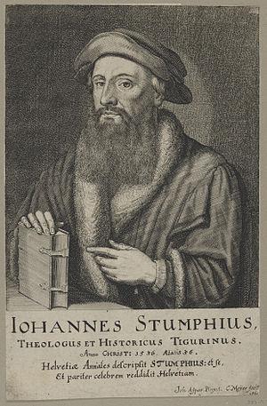 Johann Stumpf (writer) - Johannes Stumpf (c. 1536)