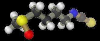 Sulforaphane - Image: Sulforaphane 3D balls