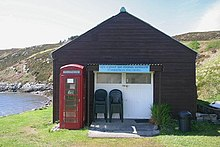 Summer Isles post office and café