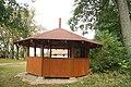 Summerhouse in Forest in Lesonice, Třebíč District.jpg