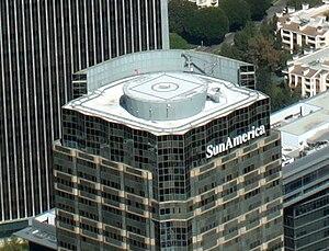 Helipad - Image: Sun America Building Helipad