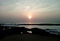 Sunrise time at Bheemunipatnam beach1.jpg