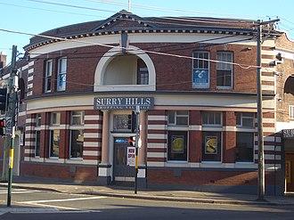 Cleveland Street, Sydney - Image: Surry Hills Shopping Village