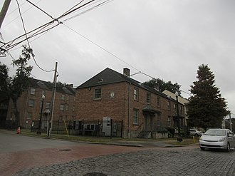 St. Thomas Development - Surviving buildings from old St. Thomas Projects, New Orleans.