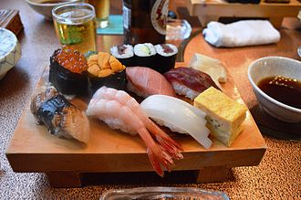 Pescetarianism - Japanese sushi; many cultures offer pescetarian-friendly cuisine