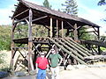 Sutters Mill in California reconstruction.JPG