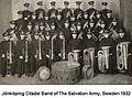 Sweden. Jönköping Citadel Band, 1932.jpg