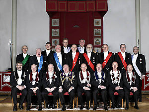English: Some members of the Independent Order...