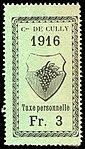 Switzerland Cully 1916 revenue 3Fr - 18.jpg