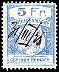 Switzerland Reinach AG 1925 revenue 5Fr - 7.jpg