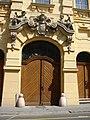 Szeged 2007-06-25, Back door of City hall - panoramio.jpg
