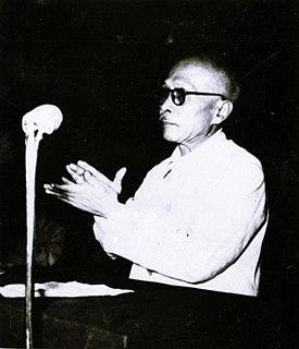 Tôn Đức Thắng President of North Vietnam