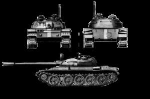سلاح المدرعات السودانى 300px-T-55_schematic
