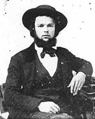T. B. Walker - T.B. Walker, c. 1860.