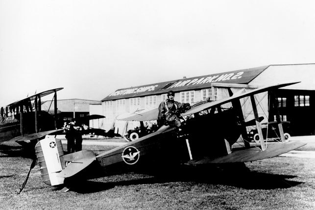 THOMAS-MORSE MB-3 and Billy Mitchell USAF