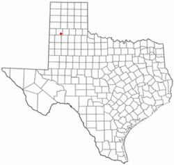 Location of Hart, Texas