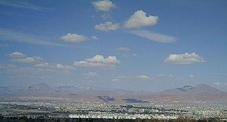 Eynali - Image: Tabriz view
