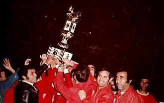 Persepolis F.C. - Persepolis winning the Takht Jamshid Cup in 1973