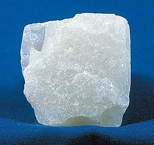Mohs scale of mineral hardness - Image: Talc block