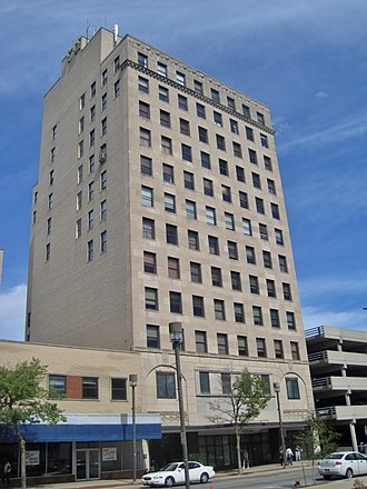 West Downtown Rockford Historic District - The Talcott Building was completed in 1927.