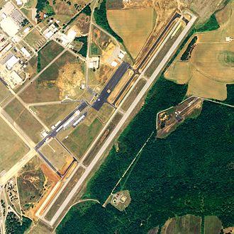 Talladega Municipal Airport - NAIP aerial image, 2006