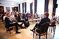 Tallinn Digital Summit press presentation by President Kersti Kaljulaid- Digital innovation and Estonia's ambitions (37321603146).jpg