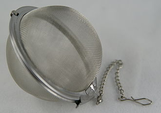 Infuser - A mesh tea infuser ball