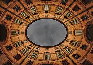 Teatro Comunale (Ferrara) - Rotonda Foschini, the internal court of the Teatro Comunale.