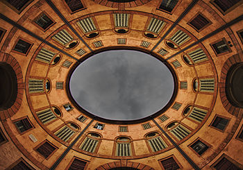 5: Ferrara communal theatre: overview of the Foschini rotunda's circle, ItalyAuthor: Andrea Parisi