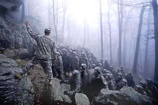 Ranger School United States Army leadership training course