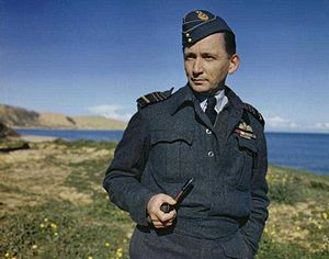 Arthur Tedder, 1st Baron Tedder - Tedder on the Italian coast in December 1943.