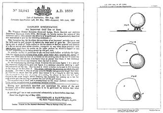 Tee - Image: Tee patent