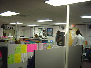 Telemarketing - Telemarketing office