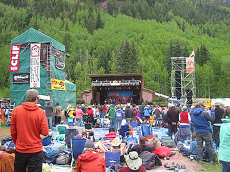 Telluride Bluegrass Festival - Main stage of the festival, 2009