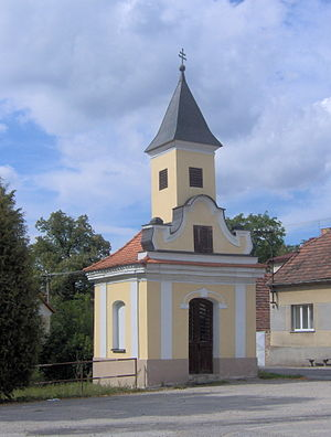 Temelín - Chapel in the village