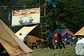 Tents and New Brunswick Flag 1976.jpg
