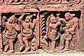 Terracotta Panel - Dol Mancha - Damodar Mandir Site - Rautara - Howrah 2013-09-22 3079.JPG