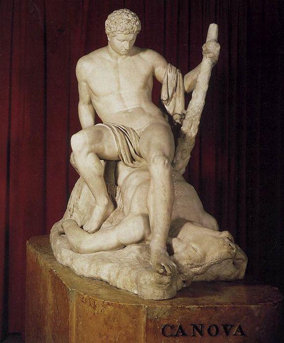 Teseo e il Minotauro, 1781 di Antonio Canova (1757 1822