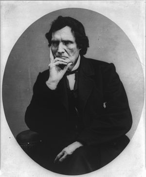 "37th United States Congress - Rep. Thaddeus Stevens, a ""transcendental"" idealist"