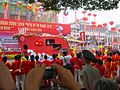 The 10th China yichang three gorges international tourist festival flower floats parade.JPG