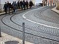 The 25 tram to Praca Sao Vincente (28470483498).jpg
