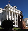 The Alabama State Capitol - The statue of Jefferson Davis - 2011.jpg