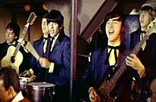 The Beau Brummels shown in performance