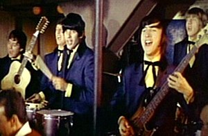 The Beau Brummels - The Beau Brummels in Village of the Giants (1965). From left: Ron Elliott, Declan Mulligan, Sal Valentino, Ron Meagher, John Petersen.
