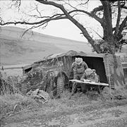The British Army in the United Kingdom 1939-45 H5986