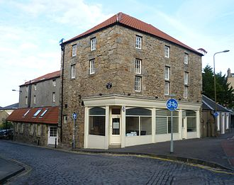 Canonmills - Canon Mill, the only surviving mill building
