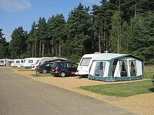 Caravan and Motorhome Club - The Caravan Club Site, The Sandringham estate